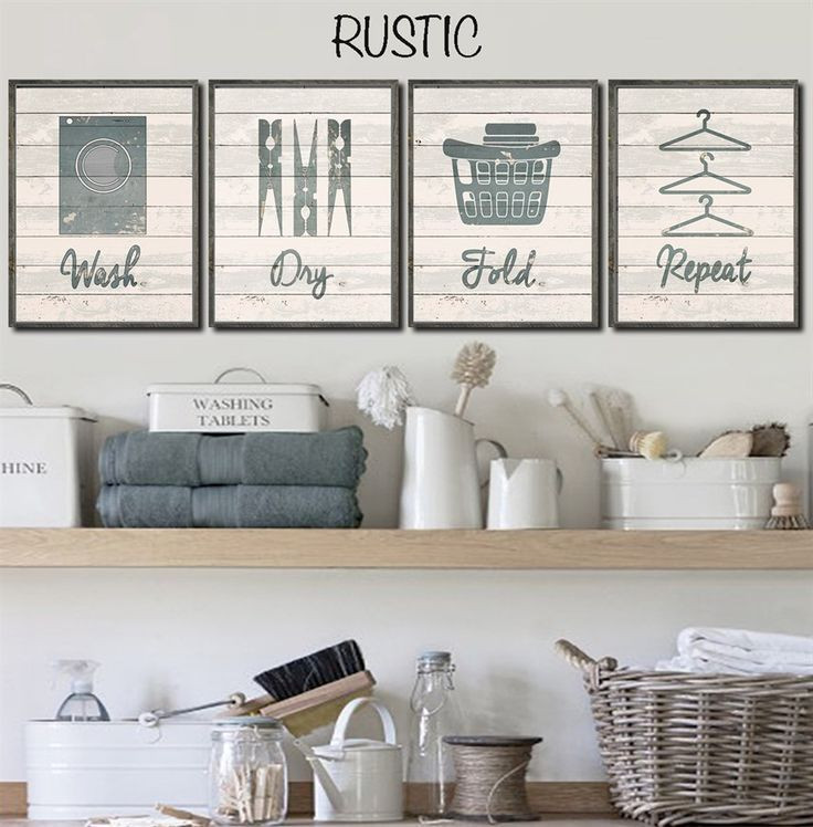 Best ideas about Laundry Wall Decor . Save or Pin Best 25 Laundry room wall decor ideas on Pinterest Now.