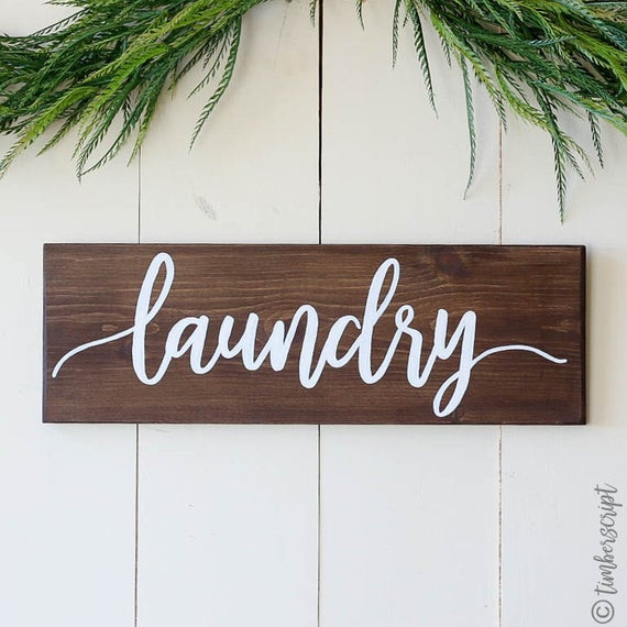 Best ideas about Laundry Wall Decor . Save or Pin Laundry Room Sign Laundry Wall Decor Rustic Home Decor Now.