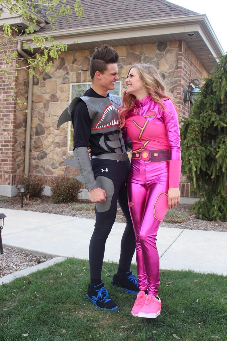 Best ideas about Lava Girl Costume DIY . Save or Pin Shark Boy and Lava Girl superhero DIY costume Now.
