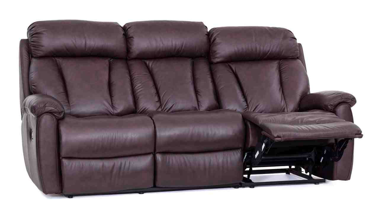Best ideas about Lazy Boy Leather Reclining Sofa . Save or Pin Lazy Boy Leather Recliner Sofa Home Furniture Design Now.