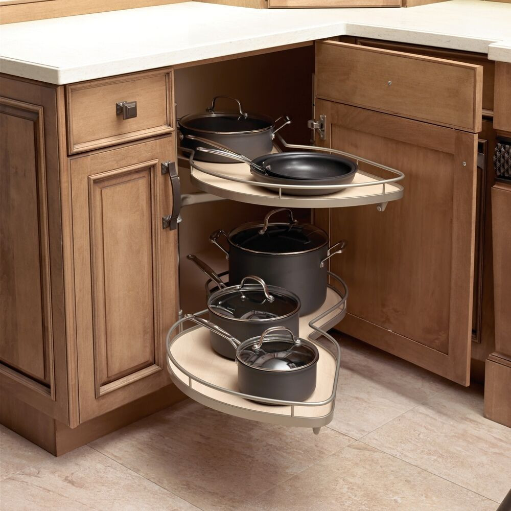 Best ideas about Lazy Susan Cabinet Organizer . Save or Pin Le Mans ll blind corner pull out lazy susan in chrome and Now.