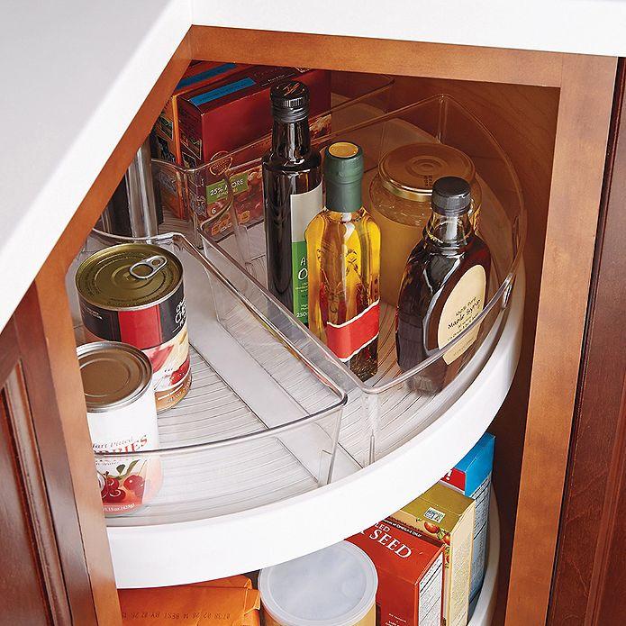 Best ideas about Lazy Susan Cabinet Organizer . Save or Pin InterDesign Cabinet Binz™ Lazy Susan Quarter Wedge Now.