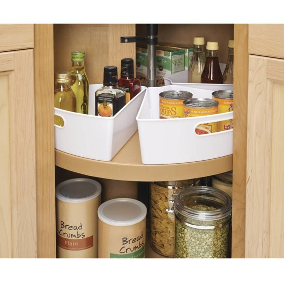 Best ideas about Lazy Susan Cabinet Organizer . Save or Pin InterDesign Lazy Susan kitchen Cabinet Organizer Storage Now.