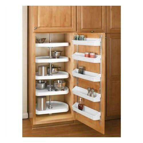 Best ideas about Lazy Susan Cabinet Organizer . Save or Pin Kitchen Cabinet Organizer 5 Shelf White Lazy Susan Storage Now.