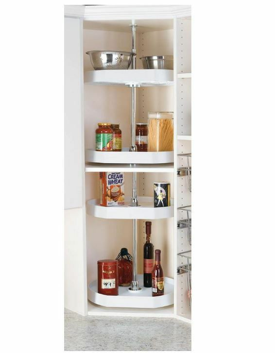 Best ideas about Lazy Susan Cabinet Organizer . Save or Pin home kitchen cabinet organizer shelf turntable lazy susan Now.