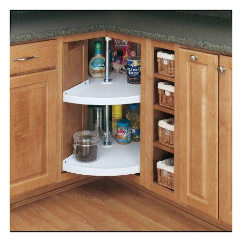 Best ideas about Lazy Susan Cabinet Organizer . Save or Pin Rev A Shelf Lazy Susan 2 Storage Shelves Kitchen Cabinet Now.