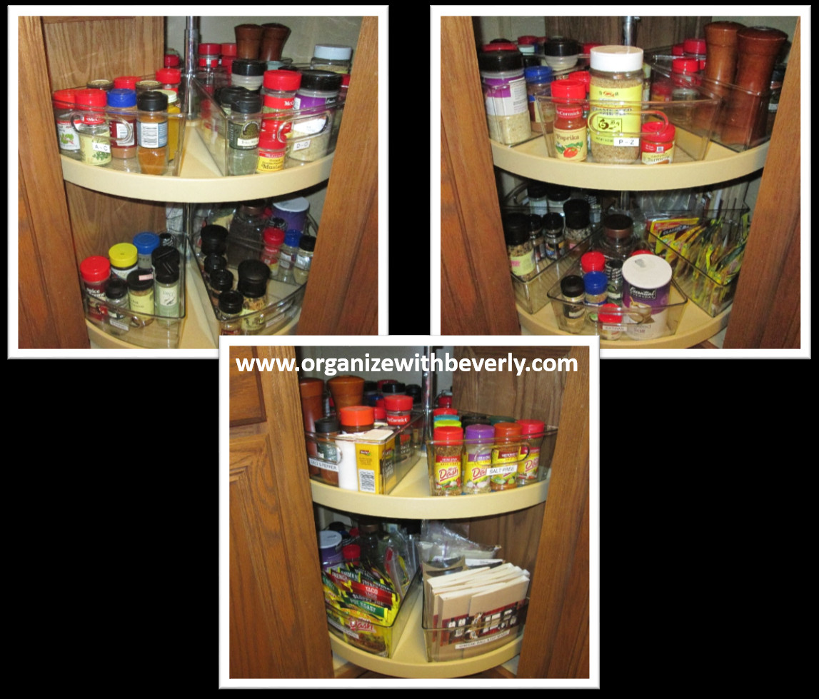 Best ideas about Lazy Susan Cabinet Organizer . Save or Pin Organize with Beverly LLC Now.