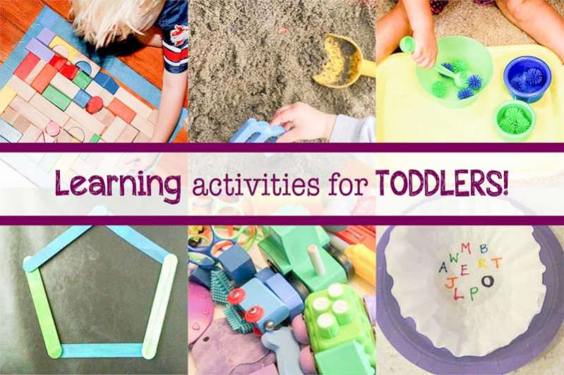 Best ideas about Learning Crafts For Toddlers . Save or Pin 14 Easy & Fun Learning Activities for Toddlers at Home Now.