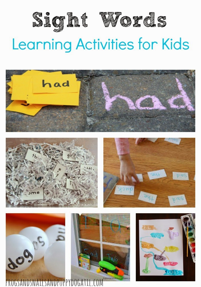 Best ideas about Learning Crafts For Toddlers . Save or Pin Sight Words Learning Activities for Kids FSPDT Now.