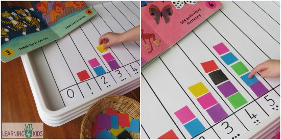 Best ideas about Learning Crafts For Toddlers . Save or Pin Learning to Count Activity Now.