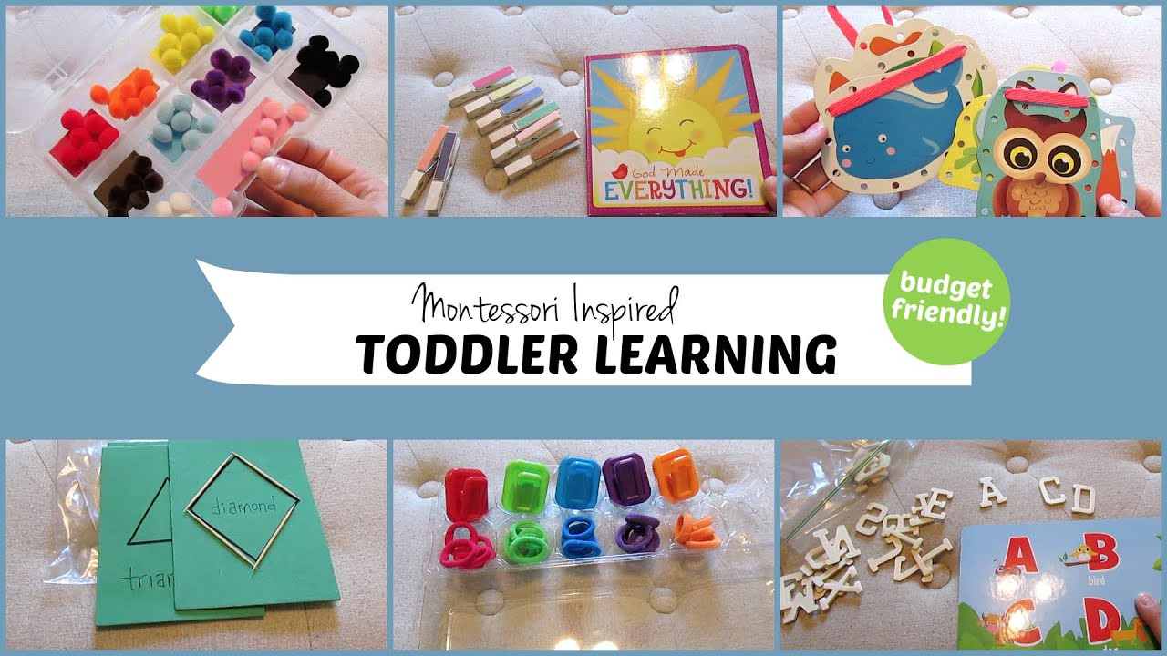 Best ideas about Learning Crafts For Toddlers . Save or Pin 10 Montessori Inspired Toddler Learning Activities Now.