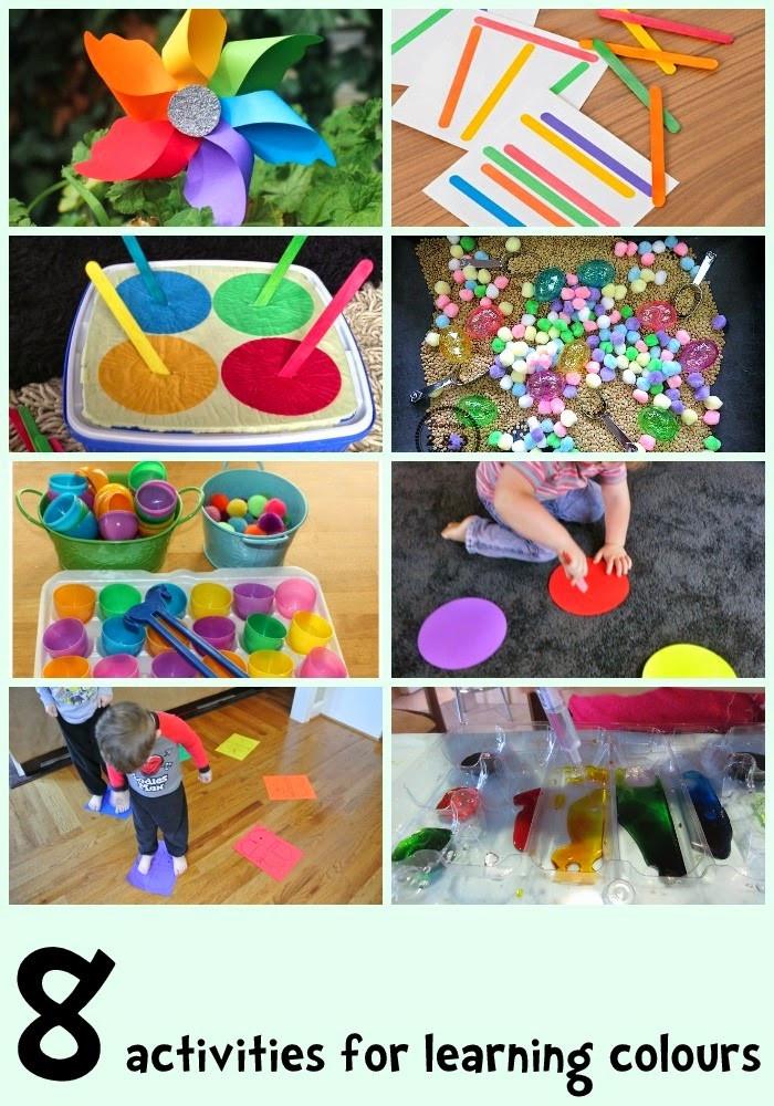 Best ideas about Learning Crafts For Toddlers . Save or Pin Learn with Play at Home 8 Colour learning activities for kids Now.