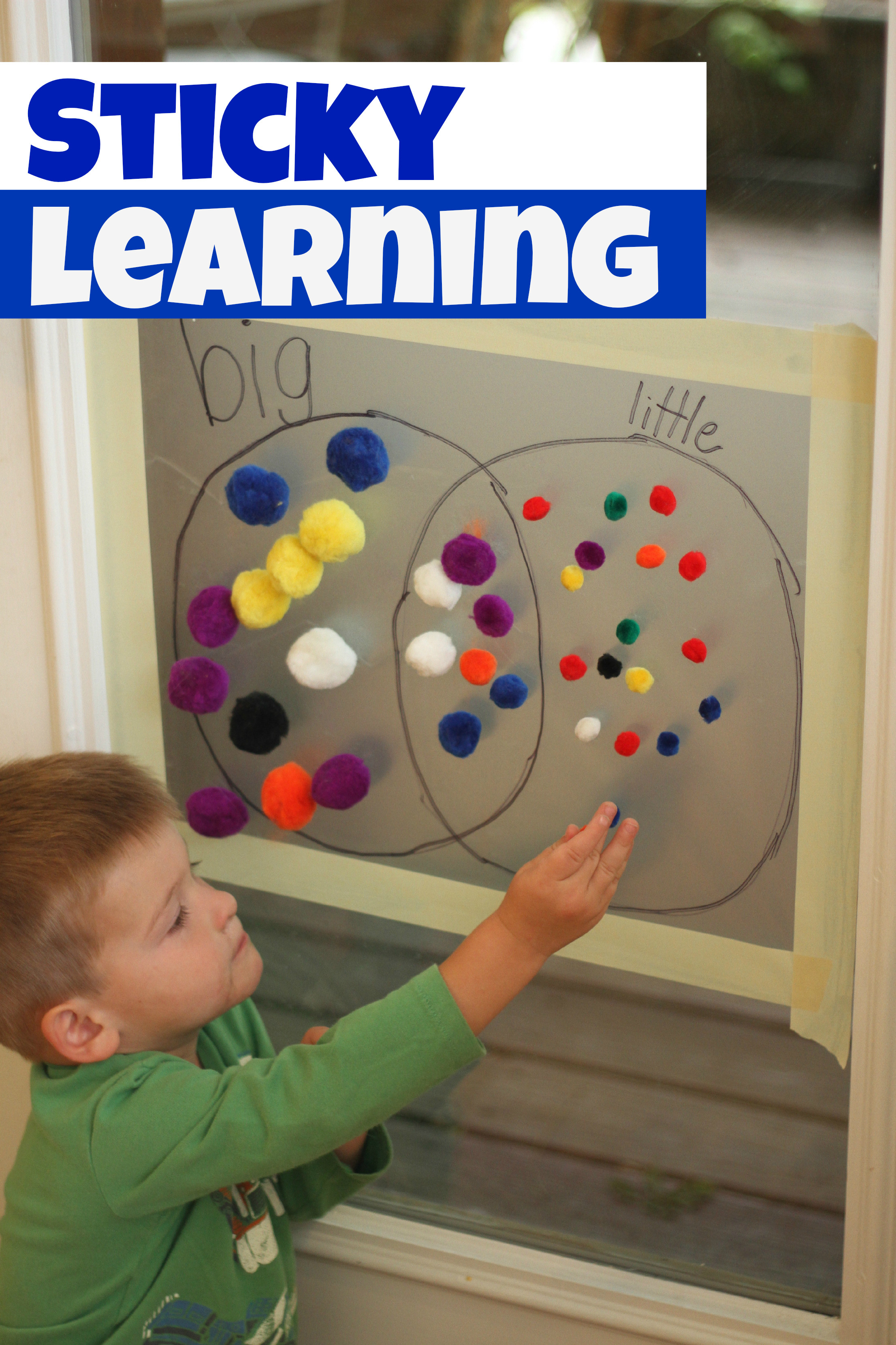 Best ideas about Learning Crafts For Toddlers . Save or Pin Sticky Learning Now.