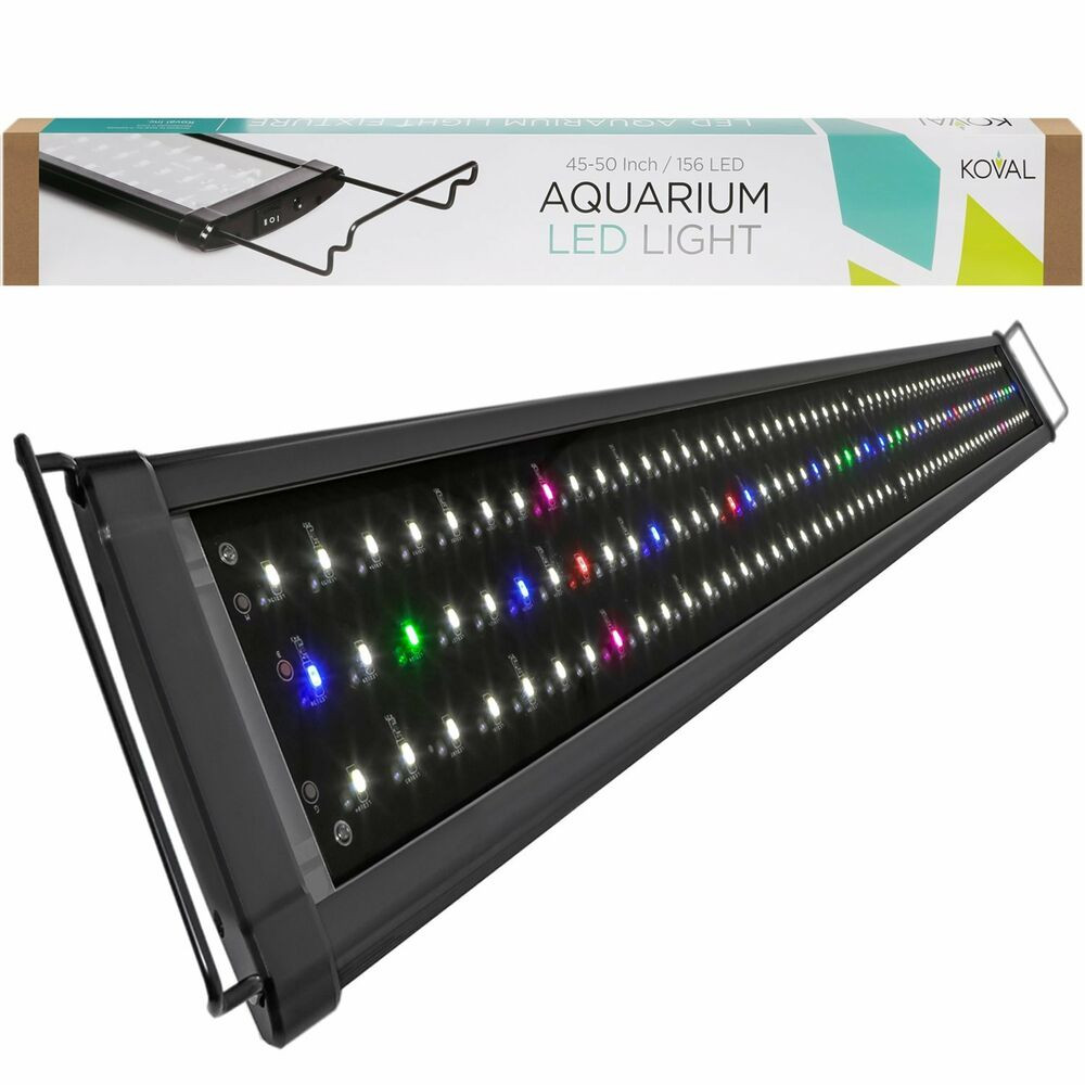 Best ideas about Led Aquarium Lights . Save or Pin Koval Inc 156 LED Aquarium Lighting for 45 inch 50 inch Now.