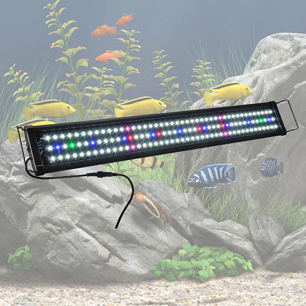 "Best ideas about Led Aquarium Lights . Save or Pin 36"" 0 5W 129 LED Aquarium Light Full Spectrum Multi Color Now."