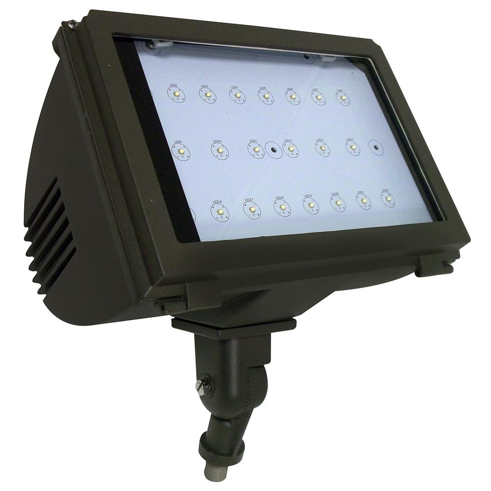 Best ideas about Led Outdoor Flood Lights . Save or Pin Radiance 40 Watt Bronze Integrated LED Outdoor Adjustable Now.