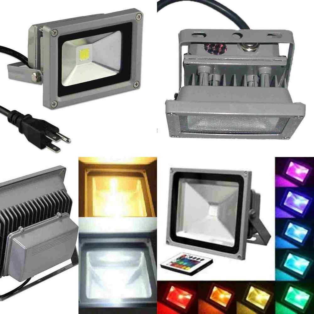 Best ideas about Led Outdoor Flood Lights . Save or Pin 10W 20W 30W 50W 100W LED Flood Light Outdoor Landscape Now.