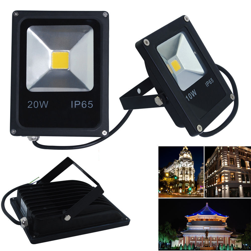 Best ideas about Led Outdoor Flood Lights . Save or Pin 10W 20W LED Flood Light Security Lights Floodlight Outdoor Now.