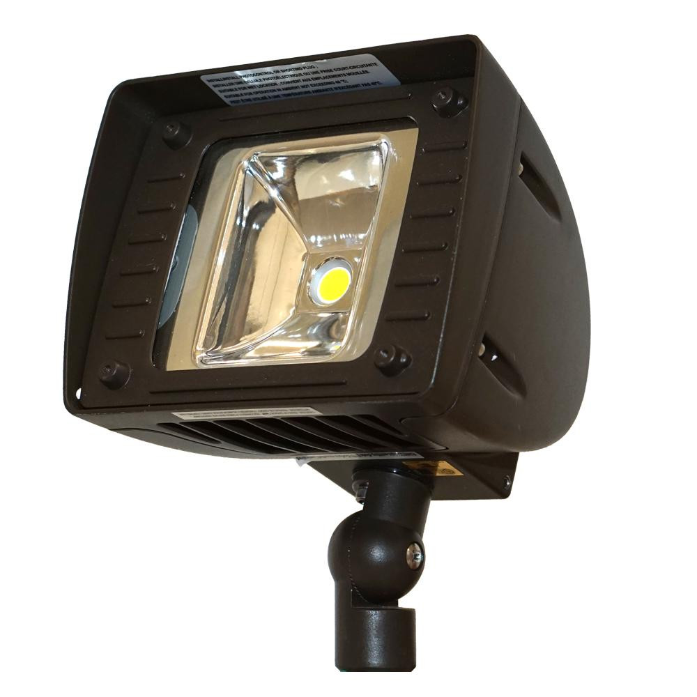 Best ideas about Led Outdoor Flood Lights . Save or Pin Lithonia Lighting Wall Mount Bronze Motion Sensor Outdoor Now.