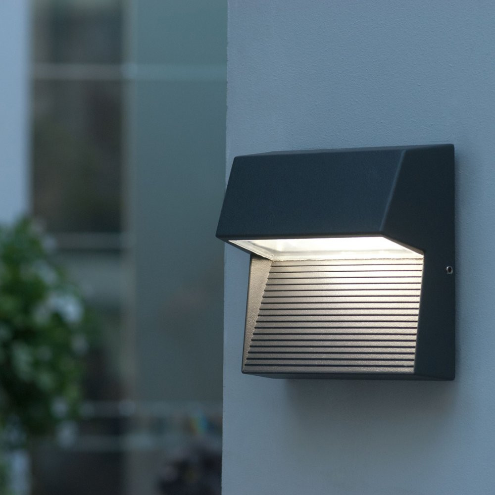 Best ideas about Led Outdoor Lights . Save or Pin Led outdoor wall lights enhance the architectural Now.