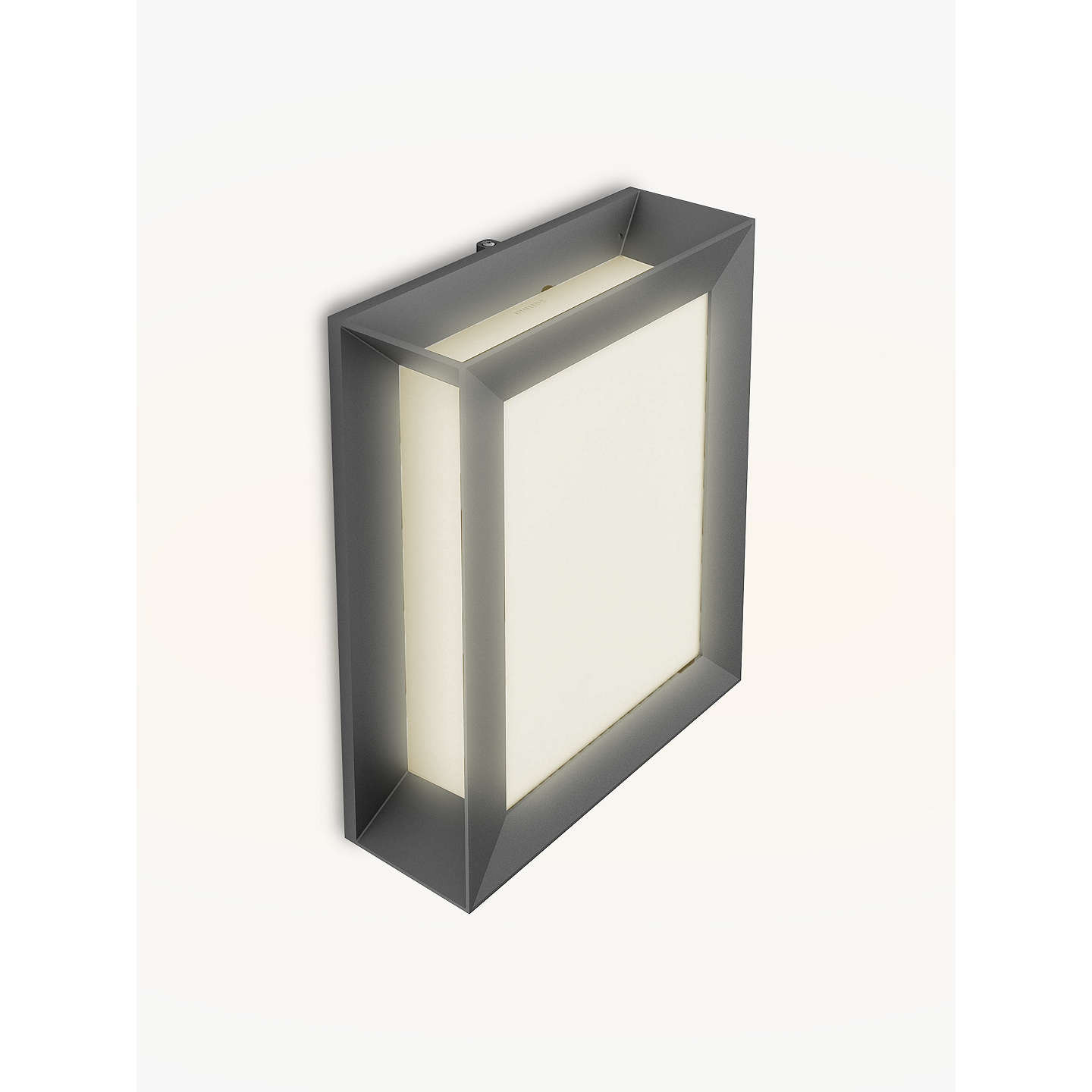 Best ideas about Led Outdoor Lights . Save or Pin Philips Karp LED Outdoor Wall Light Anthracite at John Lewis Now.