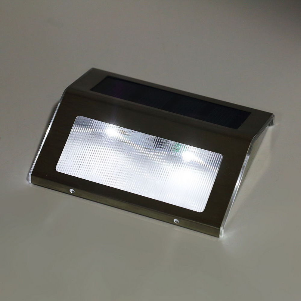 Best ideas about Led Outdoor Lights . Save or Pin LED Solar Power Path Stair Outdoor Light Garden Fence Wall Now.