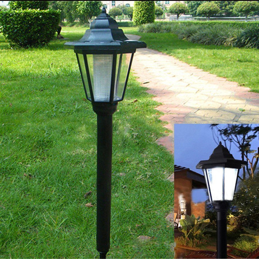 Best ideas about Led Outdoor Lights . Save or Pin LED Solar Power Light Sensor Garden Security Lamp Now.