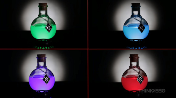 Best ideas about Led Potion Desk Lamp . Save or Pin LED potion lamp heals us with its array of colors sets Now.