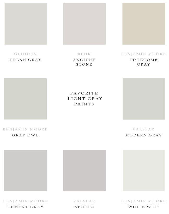 Best ideas about Light Grey Paint Colors . Save or Pin 1432 best images about Paint Colors Gray The Perfect Now.