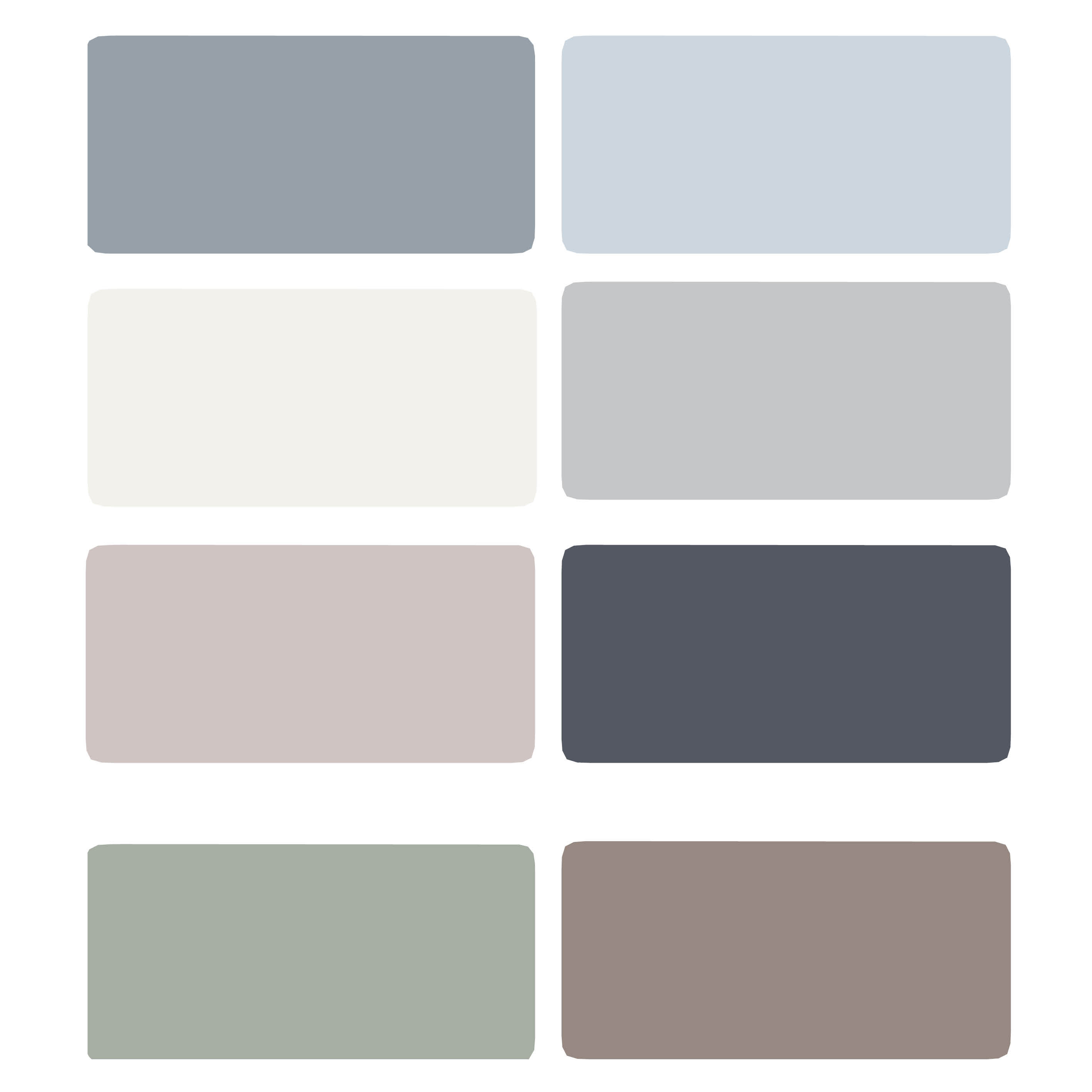 Best ideas about Light Grey Paint Colors . Save or Pin Oh the Painting We'll Do… – Keeps on Ringing Now.