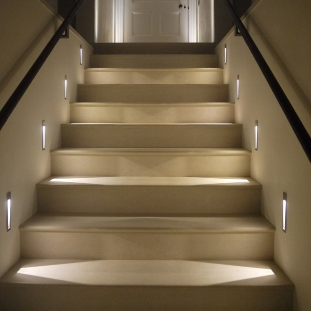 Best ideas about Lighting For Stair . Save or Pin How Properly To Light Up Your Indoor Stairway Now.