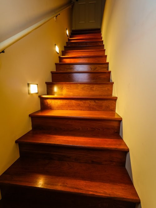 Best ideas about Lighting For Stair . Save or Pin LED Staircase Accent Lighting Now.