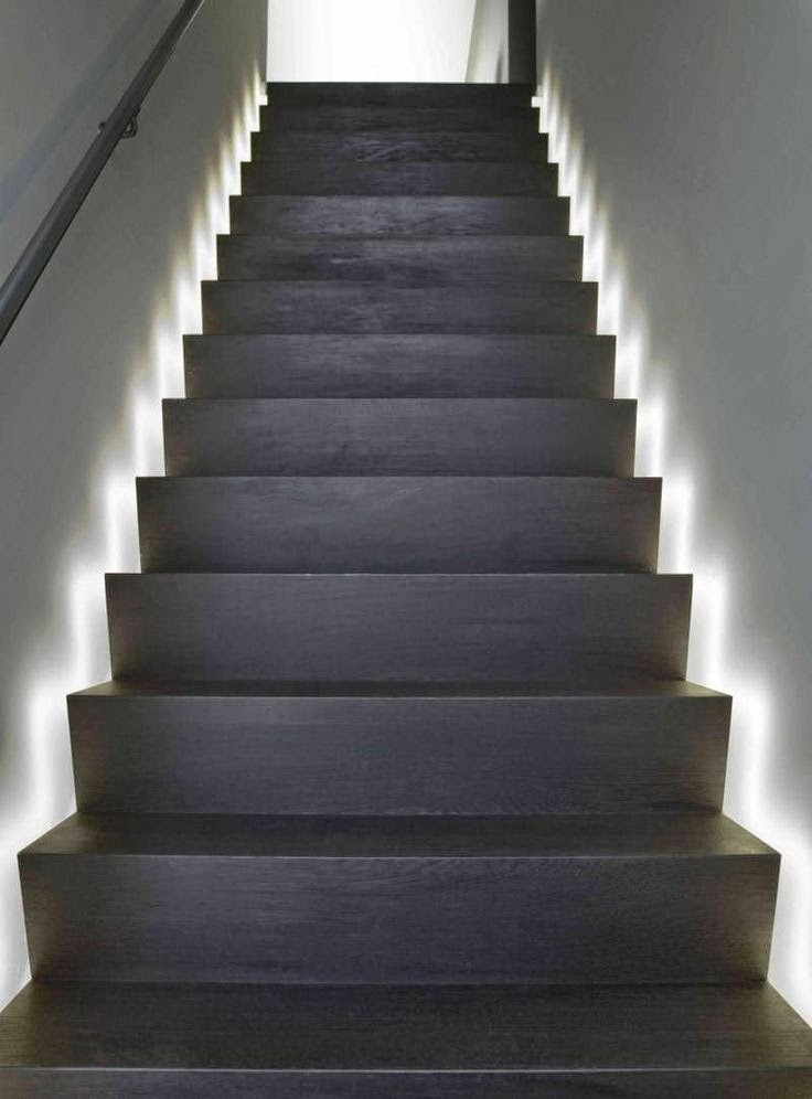 Best ideas about Lighting For Stair . Save or Pin stair lighting smart ideas step lights tips and Now.