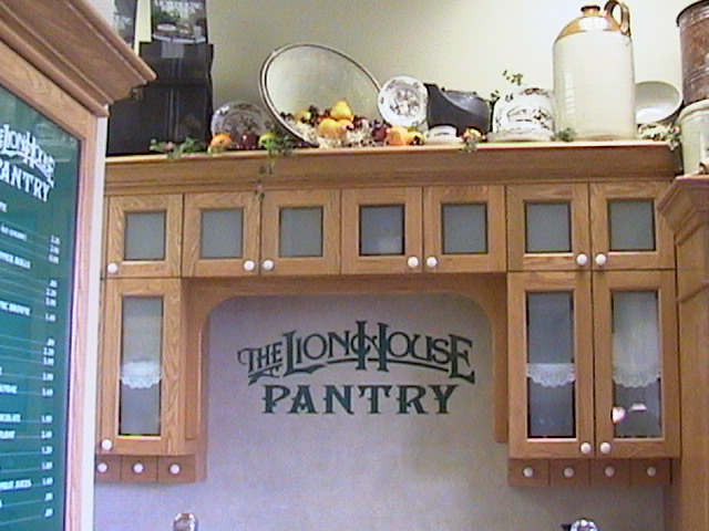 Best ideas about Lion House Pantry . Save or Pin Furniture & Fixtures Now.