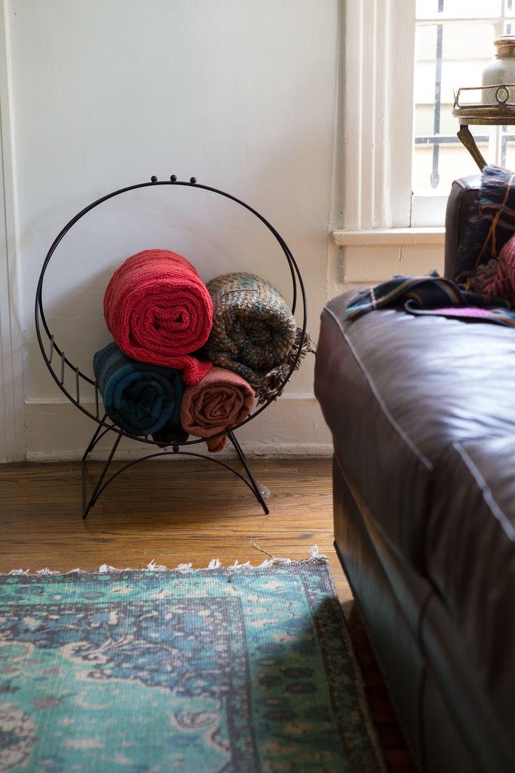 Best ideas about Living Room Blanket Storage Ideas . Save or Pin The 25 best Blanket storage ideas on Pinterest Now.