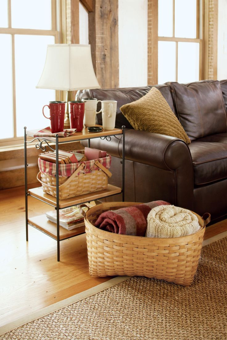 Best ideas about Living Room Blanket Storage Ideas . Save or Pin 17 Best ideas about Storing Blankets on Pinterest Now.