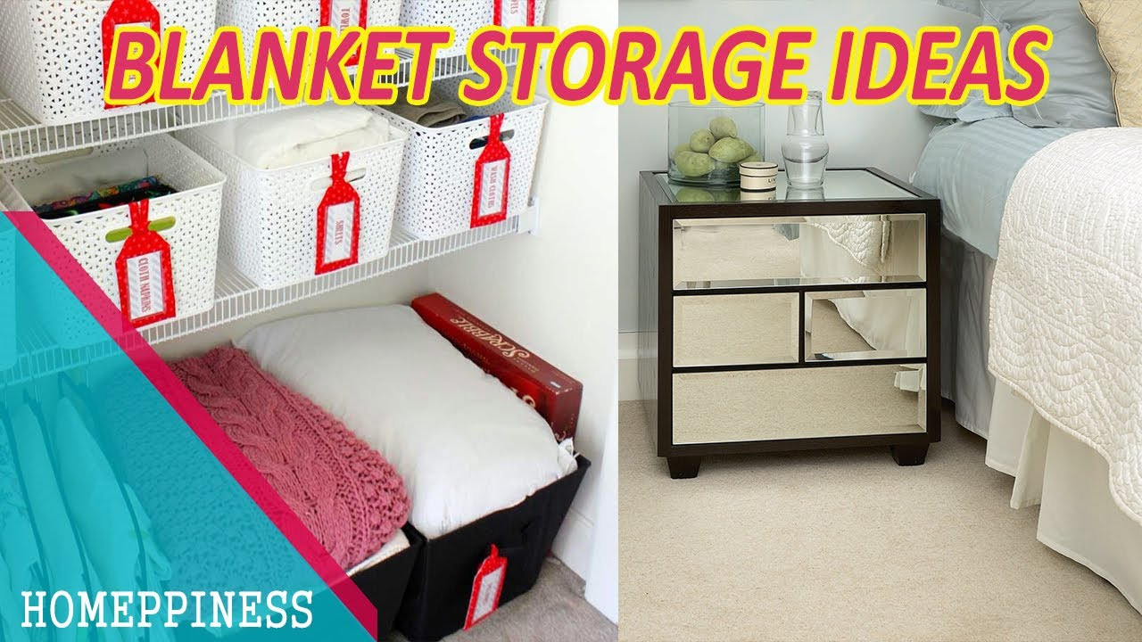 Best ideas about Living Room Blanket Storage Ideas . Save or Pin MUST WATCH 40 Cool Blanket Storage Ideas for Your Now.