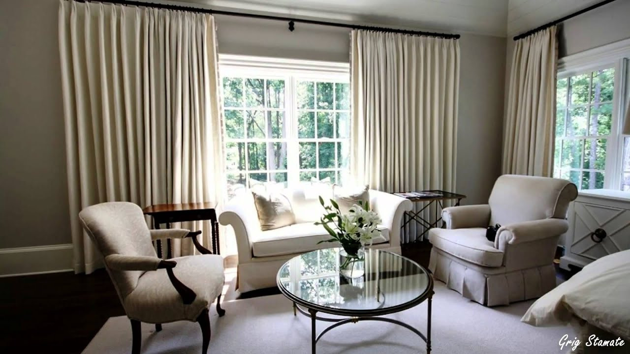 Best ideas about Living Room Curtains Ideas . Save or Pin Living Room Curtain Decorating Ideas Now.