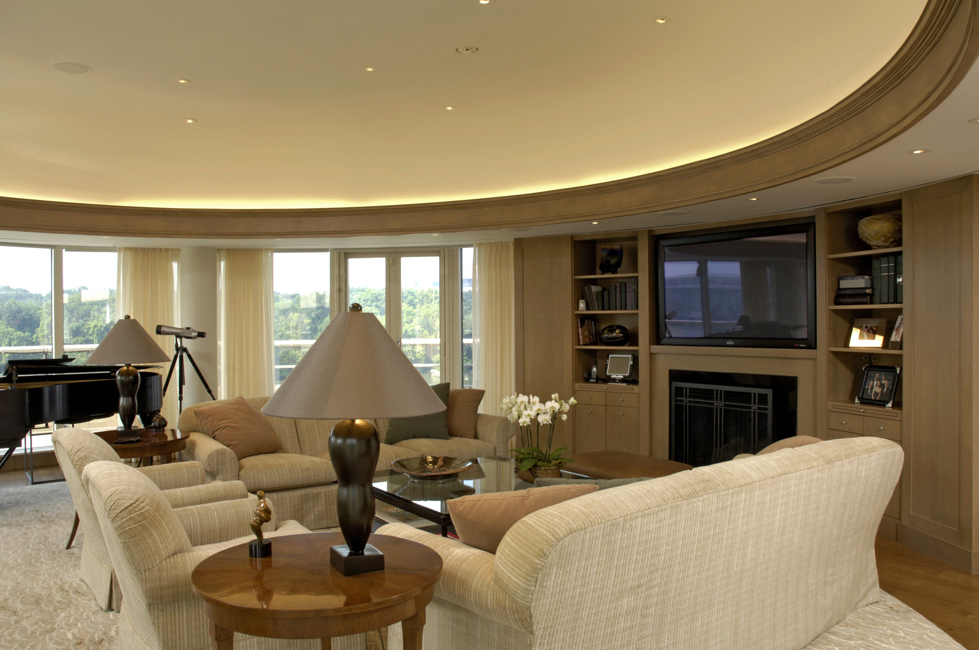 Best ideas about Living Room Dc . Save or Pin Award Winning Condominium Penthouse Renovation in Now.