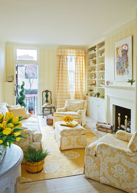 Best ideas about Living Room Dc . Save or Pin House Beautiful Geor own Traditional Living Room Now.