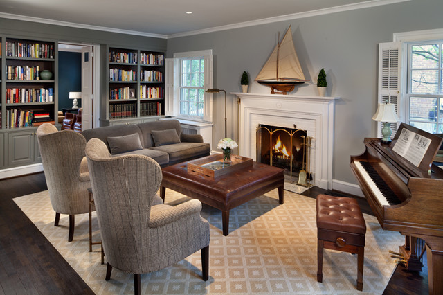 Best ideas about Living Room Dc . Save or Pin Chevy Chase Home Makeover Traditional Living Room DC Now.