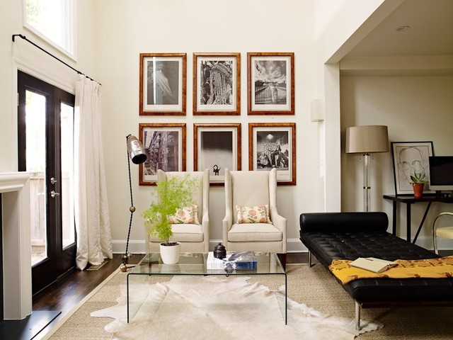 Best ideas about Living Room Dc . Save or Pin DC Rowhouse Eclectic Living Room DC Metro by Now.