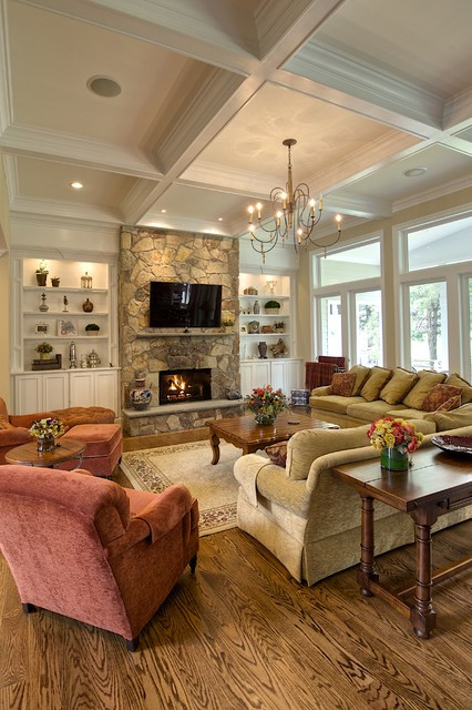 Best ideas about Living Room Dc . Save or Pin Interior in Oak Hill Traditional Living Room dc Now.