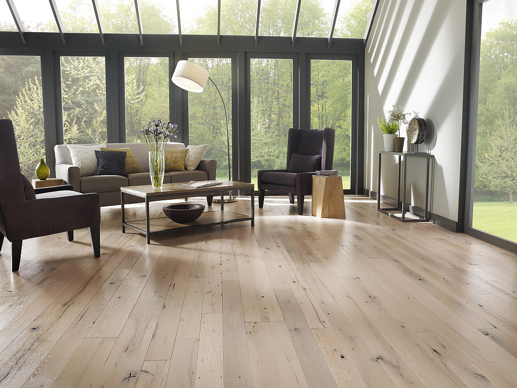 Best ideas about Living Room Flooring . Save or Pin Choosing the Best Wood Flooring for Your Home Now.