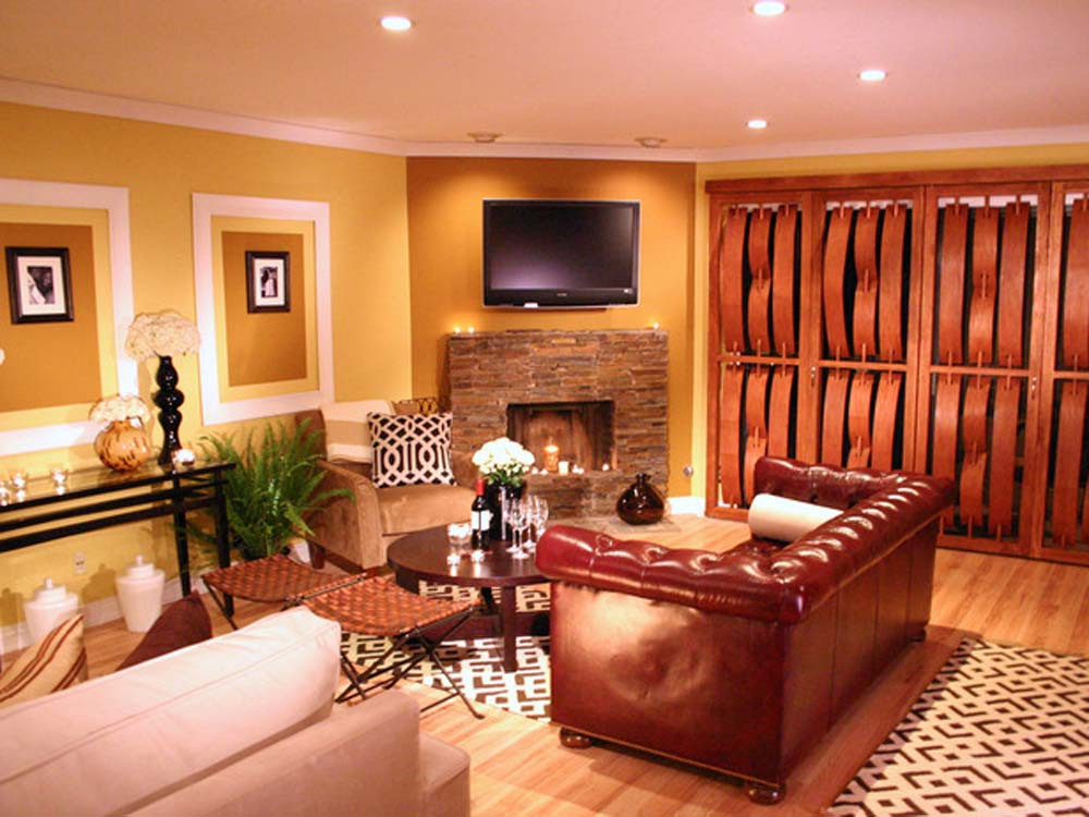 Best ideas about Living Room Paint Ideas . Save or Pin Paint Colors Ideas for Living Room Now.