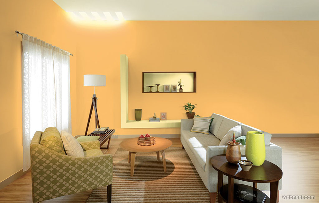 Best ideas about Living Room Paint Ideas . Save or Pin 50 Beautiful Wall Painting Ideas and Designs for Living Now.