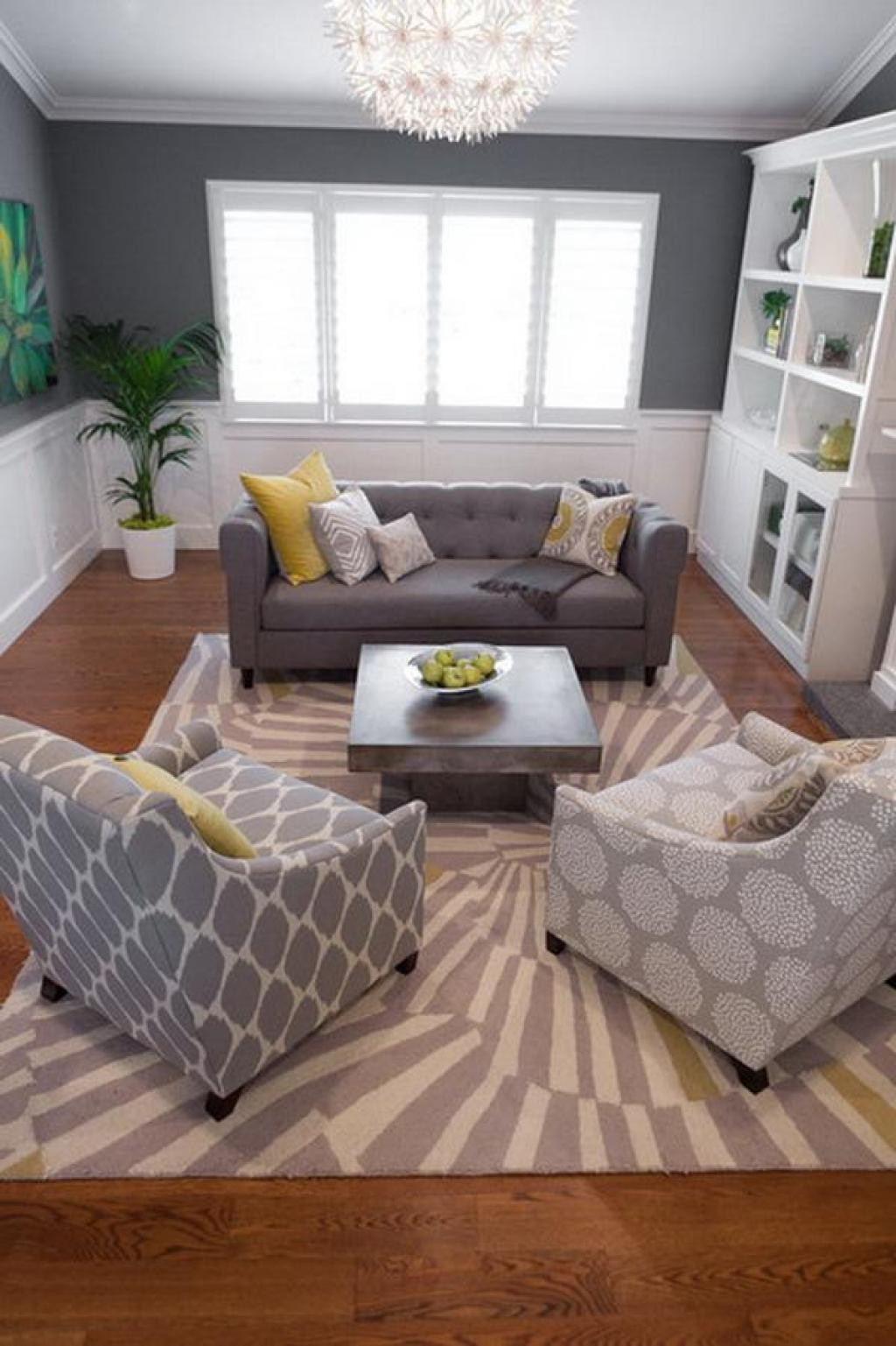 Best ideas about Living Room Rug Ideas . Save or Pin Living room rug 18 rules for right choosing Now.
