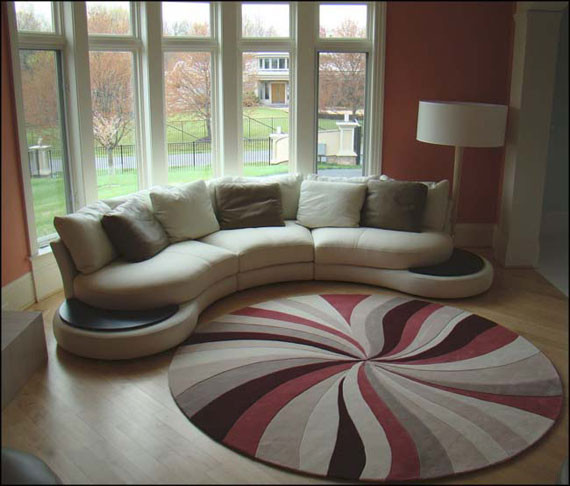 Best ideas about Living Room Rug Ideas . Save or Pin 20 Unique Carpet Designs For Living Room Now.