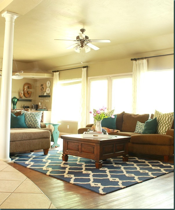 Best ideas about Living Room Rug Ideas . Save or Pin Living Room Ideas & Rugs USA Review Refunk My Junk Now.