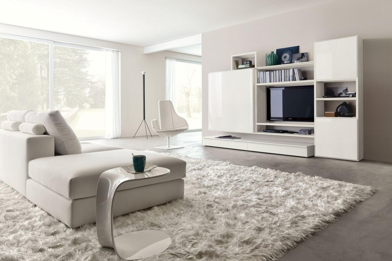Best ideas about Living Room Rug Ideas . Save or Pin Where Should the Living Room Rug Be Now.
